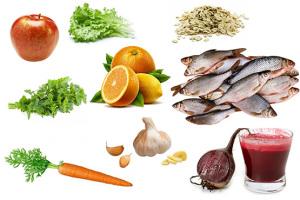 Очищающие от токсинов продукты