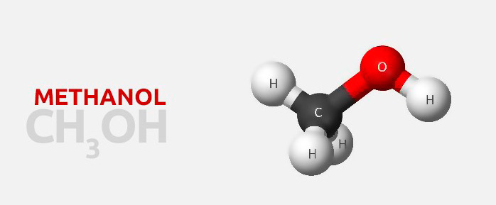 формула и молекула метанола