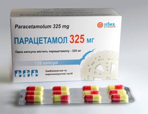 дозы парацетомола