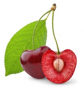 косточки в вишне