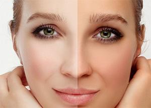 нормализуется естественный цвет лица