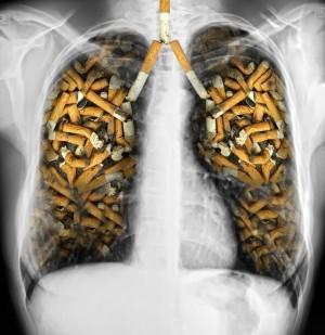 как вывести никотин из легких
