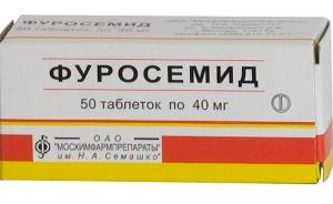 препараты, выводящие жидкость из организма