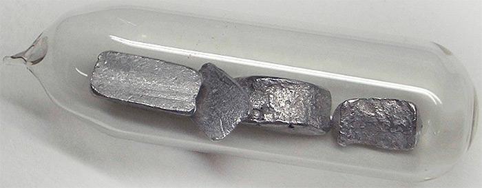 таллий металл фото