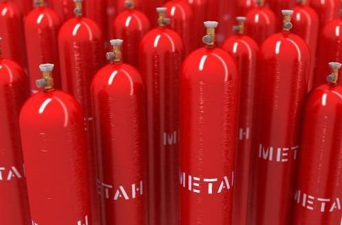 газ метан в баллонах