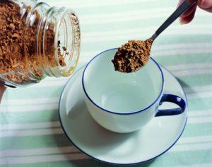 ложка растворимого кофе