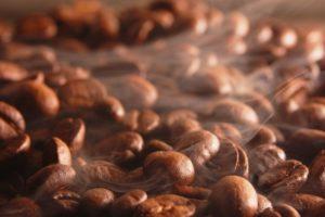 обжаренные зёрна кофе