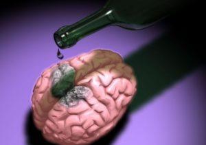 пагубное влияние алкоголя на мозг