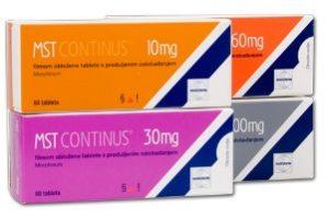 пачки препарата MTS Continus