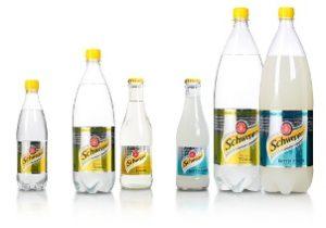 бутылки с газировкой Швепс