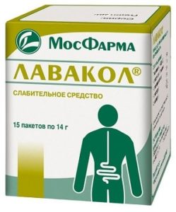 пачка лекарства «Лавакол»
