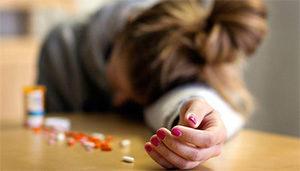 у женщины передозировка лекарствами