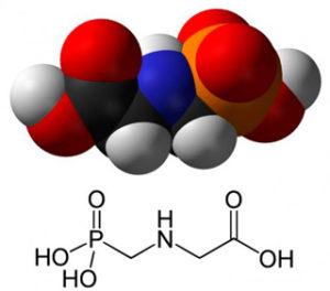 химическая и структурная формула глифосата