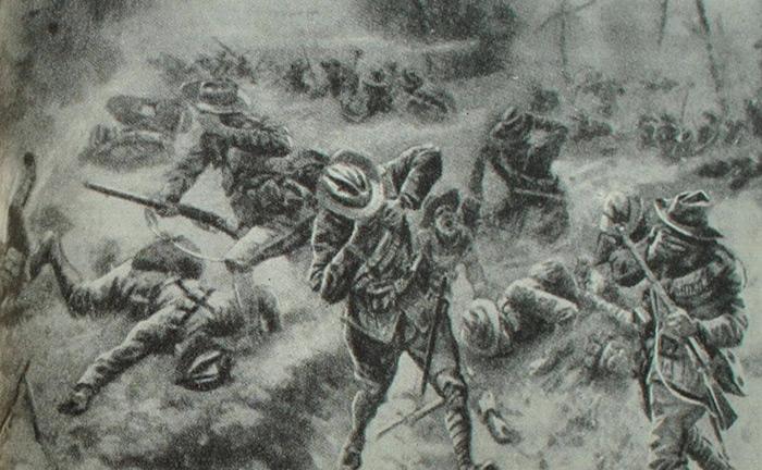 жертвы применения иприта в первую мировую войну