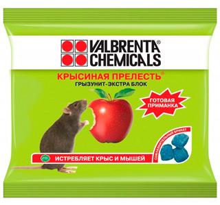 Valbrenta Chemicals «Крысиная прелесть»