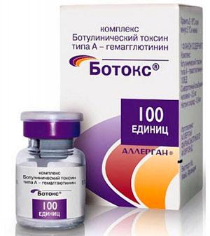 препарат с ботулотоксином «Ботокс»